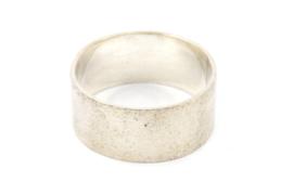 Galerie Puur - Ring zilver met bewerkt oppervlak - 11027
