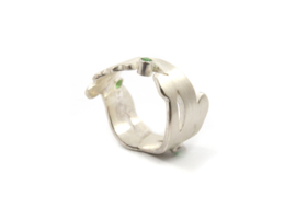 Myjung Kim - Ring Bloom met toermalijn - 10131