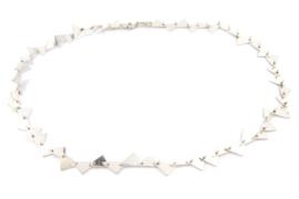 Galerie Puur - Collier zilver driehoek - 11275