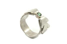 Myjung Kim - Ring Bloom met toermalijn - 5022