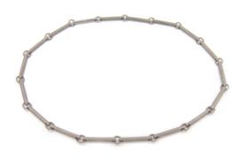 AW Edelsmeden - Titanium schakel collier - AWC - 7