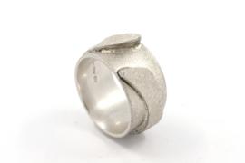 Hans van der Leen - Ring zilver met tweede laag - 10702.HLR21