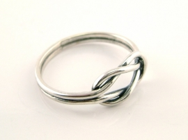 Lijn ring knoop- Galerie PUUR 9327