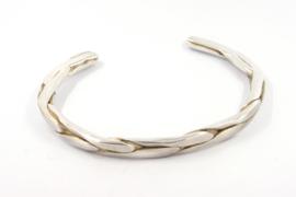 Hans van der Leen - Armband zilver met gouden details - 10694.HLA014a