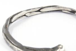 Hans van der Leen - Armband gezwart zilver - 10694.HLA014b