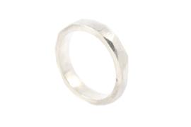Galerie Puur - Ring zilver vlakken - 11032