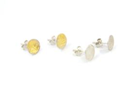 Lesley Zijlstra - Zilveren oorstekers - 10575