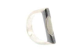 Galerie Puur - Ring gezwart zilver met - 9800