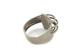 AW Edelsmeden - Ring blank titanium - AWR -8