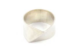 Galerie Puur - Ring zilver abstract