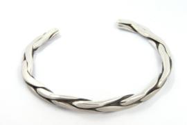 Hans van der Leen - Armband gepolijst zilver - 10694.HLA014c