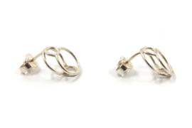 Dorien de Jonge - Zilveren oorknoppen - 5O13