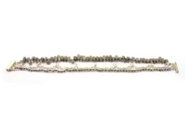 Dorien de Jonge - Zilveren armband met .... - 2A06
