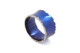 AW Edelsmeden - Gekleurd titanium ring - AWR - 22