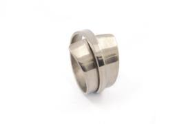 AW Edelsmeden - Titanium ring - AWR - 2