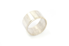 Nena Origins - Ring zilver breed - 11297