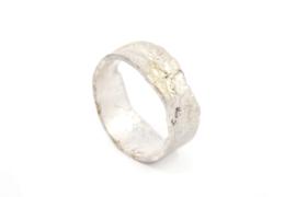 Galerie Puur - Smeltring zilver - 11035