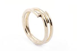 Galerie Puur - Wikkel ring zilver - 1015