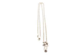 Juwelen Praten - Collier met zilveren hanger - 11068