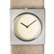 Horloge Claudia Schafer - wit/wit