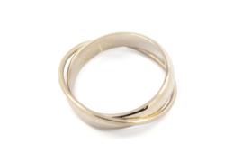 Galerie Puur - Wikkel ring zilver