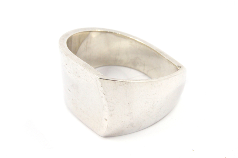 Galerie Puur - Ring zilver abstract - 9854