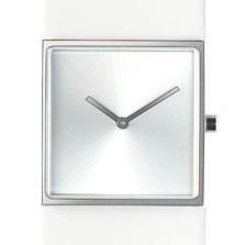 Horloge vierkant wit/wit DST-DC-002