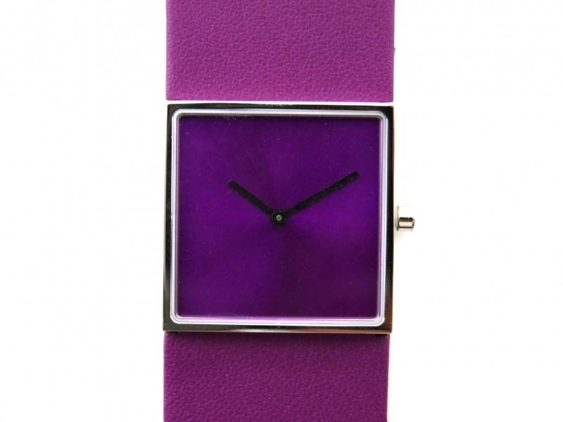 Horloge vierkant paars/paars DST-DC-0016