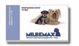 Milbemax ontwormingstablet ( 2x2 tabletten) voor de kleine hond van 0.5 -10 kg