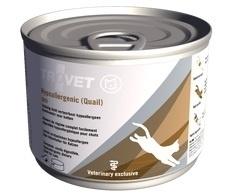 Trovet kattenvoer QRD kat ( quail ) 200 gram | natvoer | Licht verteerbare dieetvoeding voor katten met voedselovergevoeligheid