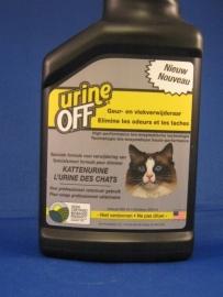 URINE OFF , voor als uw kat BUITEN in de bak plast.