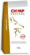 Champ hondenvoer Premium Lamb & Rice 10 kg, voor honden met allergie of verteringsproblemen