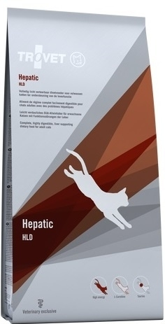 Trovet HLD kat 3 kg Licht verteerbare dieetvoeding voor katten ter ondersteuning van de leverfunctie