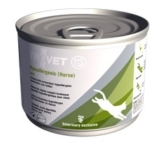Trovet HRD kat ( horse ) 200 gram | natvoer | Licht verteerbare dieetvoeding voor katten met voedselovergevoeligheid