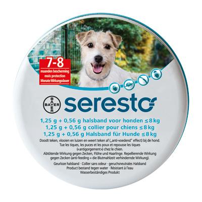 Seresto band voor kleine honden <8kg