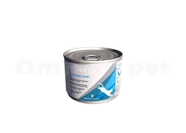 Trovet LRD kat ( lamb ) 200 gram   natvoer   Licht verteerbare dieetvoeding voor katten met voedselovergevoeligheid