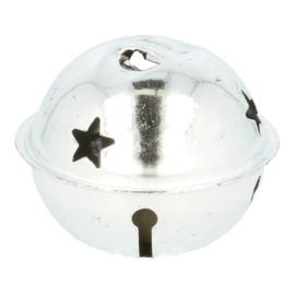 Belletjes Zilver ster 40-80mm