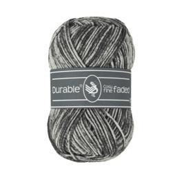 Durable Cosy fine faded - Black (325)