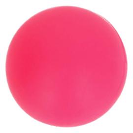 Opry Siliconen kralen rond - 15mm Roze (5 stuks)