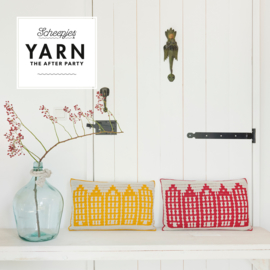 Yarn the After Party nr. 80 - Canal Houses Cushion