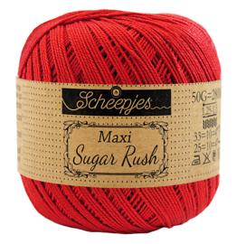 Scheepjes Maxi Sugar Rush - Hot Red (115)