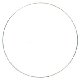 Metalen ring 100cm - Zilver (alleen af te halen)