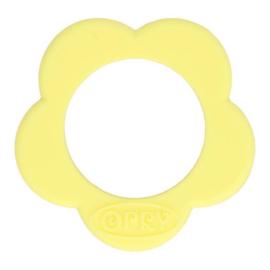 Opry Siliconen bijtring 40mm bloem (638)