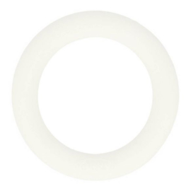 Siliconen bijtring rond 55mm (009)