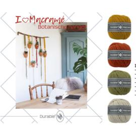 Macramé pakket: Botanische wandhanger