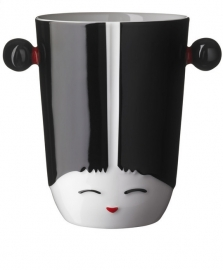 Thermobeker 3D Kokeshi China zwart