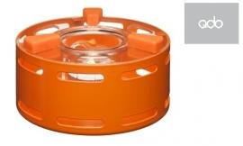Theelicht voor theepotten oranje