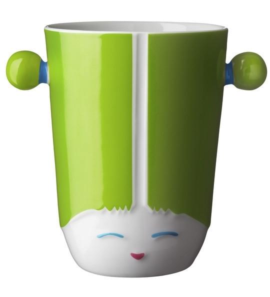 Thermobeker 3D Kokeshi China groen
