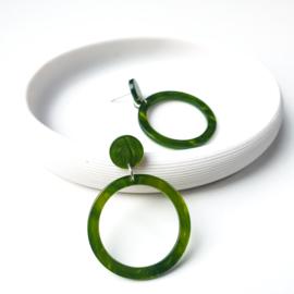 Oorbellen Nina groen