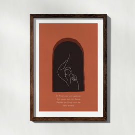 Kind in doeken